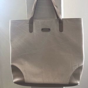779817c517e october jaipur Bags - NWT Canvas Vegan Leather Everyday Tote madewell
